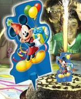 Mickey Mouse 2 D Kuchenfontäne