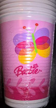 Barbie Schmetterling Partybecher
