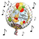 singender Folienballon Winnie Pooh