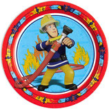Feuerwehrmann Sam Partyteller