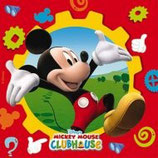 Mickey Mouse Clubhouse Servietten