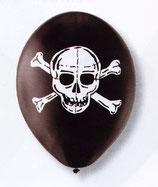 Piraten Totenkopf Latexballons