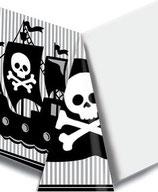 Piraten Totenkopf Tischdecke
