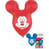 Mickey Mouse Kopf Latexballons