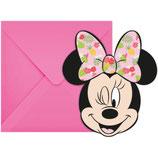 Minnie Mouse Summer Einladungskarten