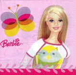 Barbie Schmetterling Servietten