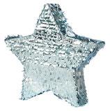 Piñata Stern Silber