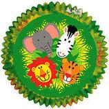Muffinförmchen Dschungel