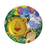 Dschungel Partyteller