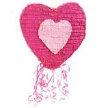 Piñata Herz rosa/pink
