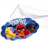 Angry Birds Film Einladungskarten