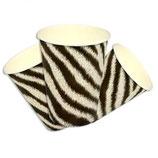 Dschungel Zebra Partybecher