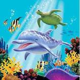 Unterwasser Servietten