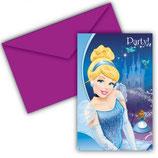 Cinderella Einladungskarten
