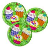 Cupcake kleine Partyteller