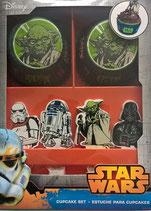 Muffinförmchen Set Star Wars