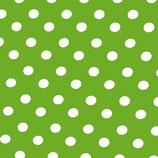 Punkte grün weiss Tischdecke