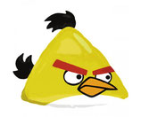 Angry Bird Kopf Yellow Bird Folienballon