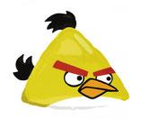 Angry Bird Kopf Yellow Bird Folienballon
