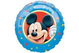 Mickey Mouse Kopf rund Folienballon