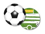 Fussball Einladungskarten