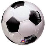 Fussball rund Folienballon