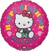 Hello Kitty rund Folienballon
