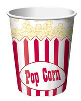 Kino Hollywood Popcorn Partybecher