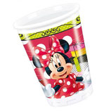 Minnie Mouse Fashion Partybecher