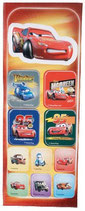 Cars 3D Stickers