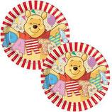 Winnie Pooh ABC kleine Partyteller