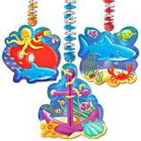 Unterwasser Hänge-Spiralen