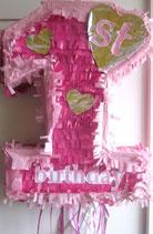 Piñata 1st Birthday Girl