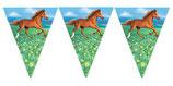 Pferde Wimpelkette