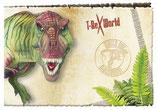 T-Rex Einladungskarten