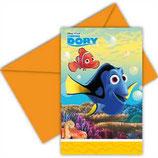 Findet Dory Einladungskarten