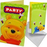 Winnie Pooh Einladungskarten