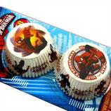 Spiderman Muffinförmchen