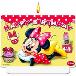 Minnie Mouse Geburtstagskerze