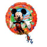 Mickey Mouse rund Folienballon
