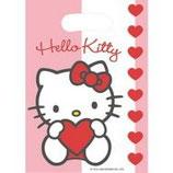 Hello Kitty Sweet Hearts Partytüten