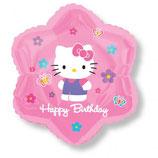 Hello Kitty Blume Folienballon