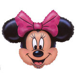 Minnie Mouse Kopf Figuren Folienballon