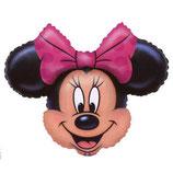 Minnie Mouse Kopf Figuren Folienballon