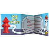 Feuerwehr Einladungskarten