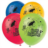 Fin Friends Hai Latexballons