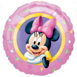 Minnie Mouse rund Folienballon