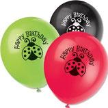 Latexballons Marienkäfer