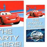 "Cars ""The Party is here"" Türposter"