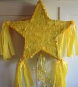 Piñata Stern Gelb